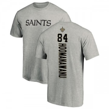 Men's Michael Hoomanawanui New Orleans Saints Backer T-Shirt - Ash